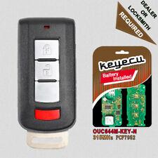 Remote Key Fob 2+Panic for Mitsubishi Mirage Outlander 2008-2016 OUC644M-KEY-N