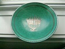GUSTAVSBERG ARGENTA SWEDISH POTTERY BOWL Plate STERLING Silver design - KAGE 916