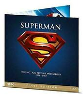 Superman - Motion Pictures 1978/1987 - Vinyl Edition - Cof. 4 Blu Ray - Nuovo