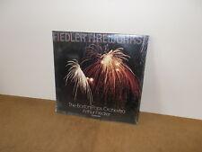 ARTHUR FIEDLER & BOSTON POPS : FIEDLER FIREWORKS - DOUBLE LP USA 1982 SEALED