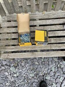 2 Box 50 x DeWALT Blue-Tip Hex Head Concrete Screwbolt: 6mm x 100mm DFM141011S