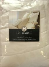HOTEL COLLECTION BY CHARTER CLUB 340TC EURO QUILTED SHAM NIOP