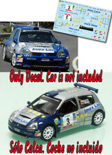 C152 Decal 1:43 Miguel Fuster - RENAULT CLIO S1600  Rally Canarias 2006