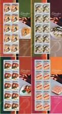 GIBRALTAR 2005 EUROPA-CEPT x4 M/S SC#1010-13  MNH unmounted FOOD, FISH