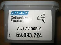 KIT DE FIXATION AILE AVANT FIAT DOBLO ALFA LANCIA - 59093724