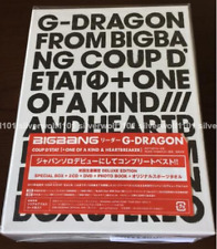 G-DRAGON COUP D'ETAT+ONE OF A KIND&HEARTBREAKER Limited Edition [2CD+DVD] Japan