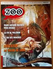 magazine ZOO n° 46 NEUF (bande-dessinée) Philémon Arleston Marc-Antoine Mathieu