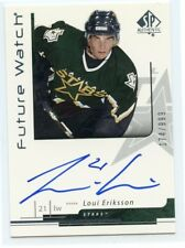 06-07 SP AUTHENTIC FUTURE WATCH ROOKIE AUTO #176 LOUI ERIKSSON /999 STARS *42300