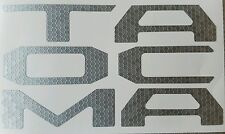 AVT 2016 TOYOTA TACOMA DECAL TAILGATE LETTER INSERTS  INLAYS VINYL 3D HONEYCOMB