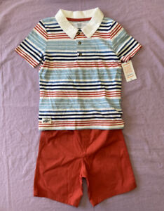 Just One You by Carter's Toddler Boys' 2pc Top & Bottom Set Red Size 5T