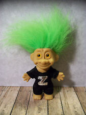 """5"""" Green Haired Trollkins Troll - Zoro Masked Rider Outfit, NO Mask or Cape"""