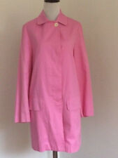 LILLY PULITZER WOMEN PINK TRENCH COAT SZ S