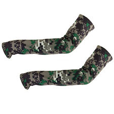 Exclusive Camo Arm Sleeves Sun Uv Protection Cover Golf Cycling Bike Sports VvV
