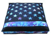 """35X35"""" Large Star Multicolor Indian Floor Pillow Cushion Cover Dog Bed Covers"""