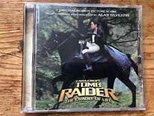 LARA CROFT TOMB RAIDER THE CRADLE OF LIFE (Silvestri) OOP Score Soundtrack CD EX