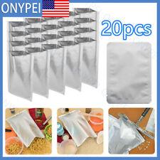20pcs Mylar Moisture Static Proof 2 Gallon Bags Long Term Food Storage10*15cm