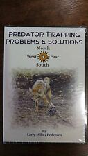 PREDATOR TRAPPING PROBLEMS AND SOLUTIONS DVD LARRY SLIM PEDERSEN TRAPPING SLIM'S