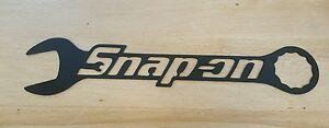 Snap-on tools wrench metal wall art plasma cut decor gift idea mechanic