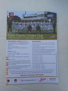 ESSEX v SURREY   COUNTY CHAMPIONSHIP  16-19 AUGUST 2006