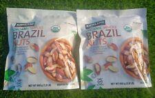 3 lbs Kirkland Organic Whole Brazil Nuts (2 bags), Sealed