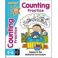 Gold Stars Workbook - Key Stage 1 - National Curriculum - Counting 5-6 Years
