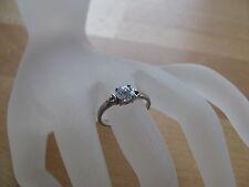Ring (RSS0007) 925er Silber mit Swarovski-Stein, Gr. 17,75