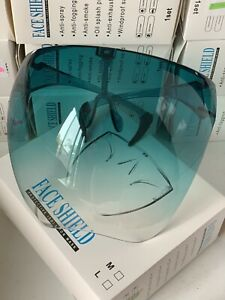 Face Shield Face Mask Transparent Reusable Glasses Visor Anti-Fog US Full Green
