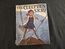 The Columbus Story Alice Dalgliesh Illus Leo Politi SIGNED first ed