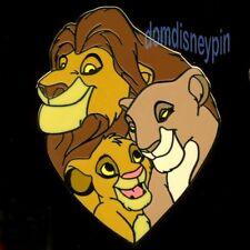 Disney Pin *The Lion King* (2014) Character Collection - Mufasa, Sarabi & Simba!