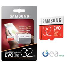 Samsung MicroSD EVO Plus 32gb Classe 10 + SD Adapter UHS-I SDHC Memoria