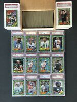 1986 Topps Football Complete Set (51) PSA All HOF & Rookies Graded 2 Rice RC's