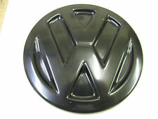 VW  TRANSPORTER T5 CADDY BLACK ABS REAR DOOR BADGE COVER