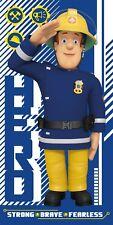 Sam Pompier Serviette de bain drap de plage 140 x 70 cm Fireman Sam