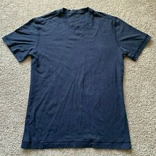 Lululemon Men's Blue Short Sleeve T-shirt Size Medium M