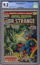 Marvel Premiere Feat Dr. Strange #12 CGC 9.2 NM- OwWp Marvel Comics 1973 Brunner