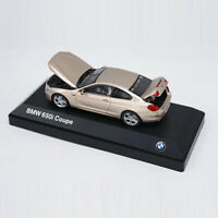 BMW 650i Coupe 1:43 Scale Model Car Metal Diecast Toy Kids Collection Gift Gold
