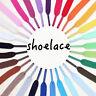 2Pair Unisex Flat Shoe Laces 30+ Colours Shoelaces Football Boots Trainer Shoes