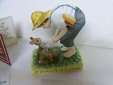 "Norman Rockwell ""Springtime"" Gorham Nem-54 Figurine Limited Edition"