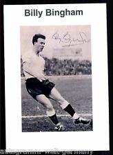 Billy Bingham Nordirland WM 1958 TOP Foto Orig. Sign. +G 9468