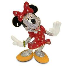 "DISNEY PARKS AUTHENTIC ""MINNIE MOUSE"" JEWELED FIGURINE ARRIBAS - SWAROVSKI® LE"