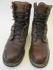 "Rocky Men's Aztec 8"" Waterproof Steel Toe Work/Hunting Boots Men's Size US9M/UK8"