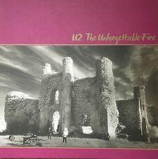 U2 - The Unforgettable Fire Collectable 1980s Vinyl LP (No Bar Code)