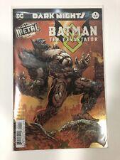 BATMAN THE DEVASTATOR 1 1st PRINT FOIL STAMPED COVER METAL TIE IN NM