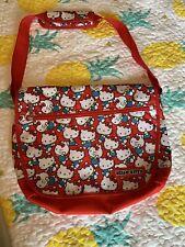 Hello Kitty Messenger Bag Red