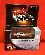 1:64 Hot Wheels 100% 1972 Dodge Funny Car Chi-Town Hustler Silver