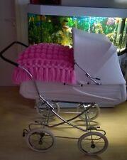 Kinderwagen Decke in Rosa Ausgefallen und Nostalgisch!