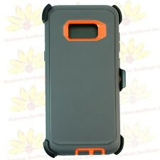 Gray Org For Samsung Galaxy S8 Plus Case Cover w/[Clip Fits Otterbox Defender]