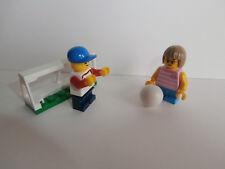 LEGO CITY 2 Kinder (fille et jeune ) avec FOOTBALL but de produit neuf