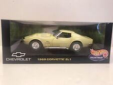 1969 Corvette ZL-1 Coupe Die-cast 1:18 Scale Hotwheels Collectibles