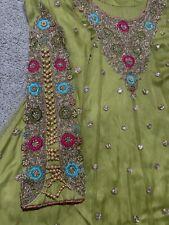 Indian Pakistani Salwar Kameez Party Wear Bridal Dress Pre Own